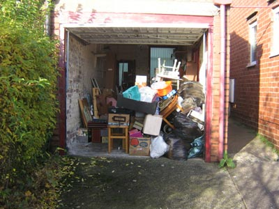Garage rubbish phoenixwaste rubbish removal london it is sad but true to say that most people who own a garage can never fit the car in because it is absolutely full of junk whether you use your garage solutioingenieria Choice Image
